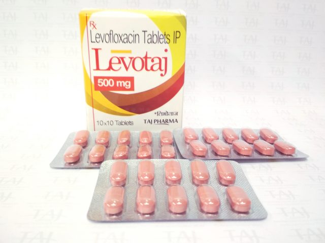 Levofloxacin Tablets IP Levotaj 500mg Taj Pharma