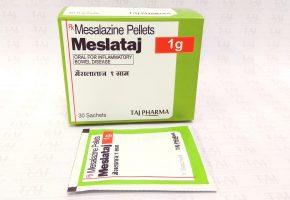 Mesalazine Sachet 1gm prolonged release granules (Meslataj) Taj Pharma