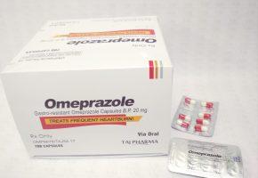 Omeprazole Gastro resistance Capsules IP 20mg (Prilosid) Taj Pharma