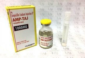 Ampicillin Sodium Injection 1000mg (Amp-Taj) Taj Pharma