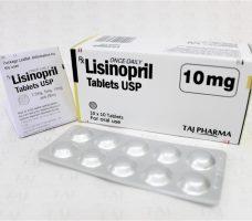 Lisinopril Tablets IP 10mg Taj Pharma