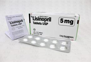 Lisinopril Tablets IP 5mg Taj Pharma
